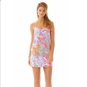 Lilly Pulitzer Scuba to Cuba Dusk Silk Dress